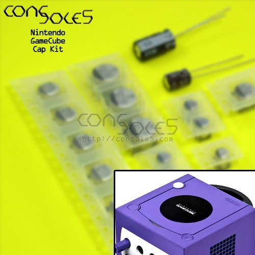 Nintendo GameCube SMD Cap Kit - NTSC and PAL