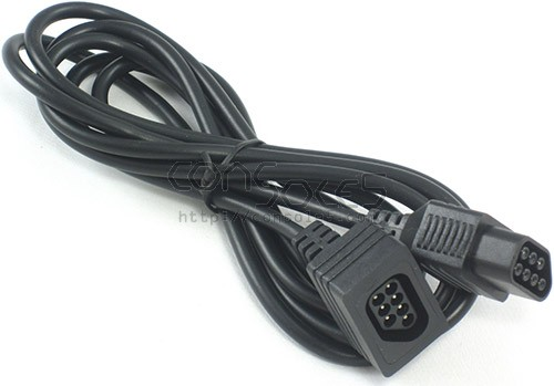 NES Controller Extension Cable, 6 Foot (1.8M), 7 Wire Zapper Compatible Version