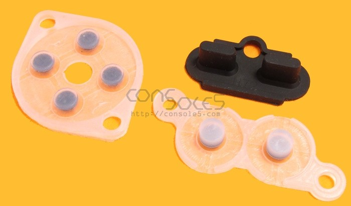 NES Replacement Controller Silicone Rubber Carbon Dot Pads (Square Select/Start)