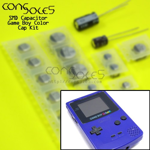 Game Boy Color SMD Cap Kit (GBC)