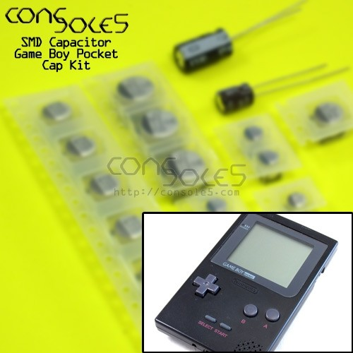 Game Boy Pocket / Game Boy Light SMD Cap Kit