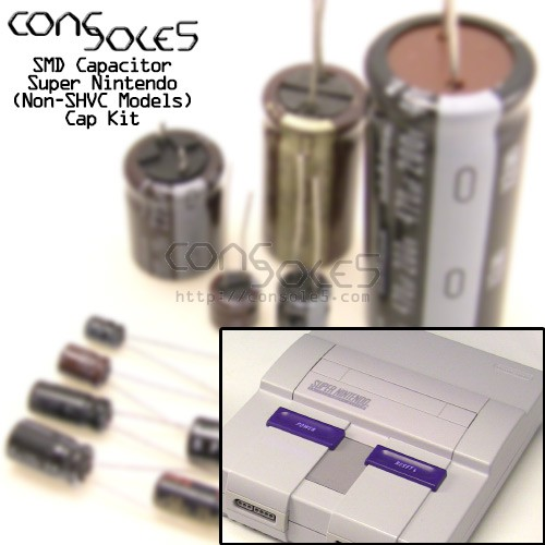 Super Nintendo / Super Famicom SNES Cap Kit (Non-SHVC Models)