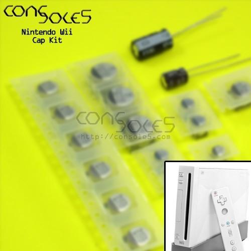 Nintendo Wii SMD Electrolytic Cap Kit