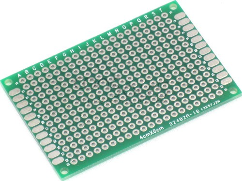 Perforated Prototype PCB Boards: 4cm x 6cm