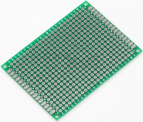 Perforated Prototype PCB Boards: 5cm x 7cm