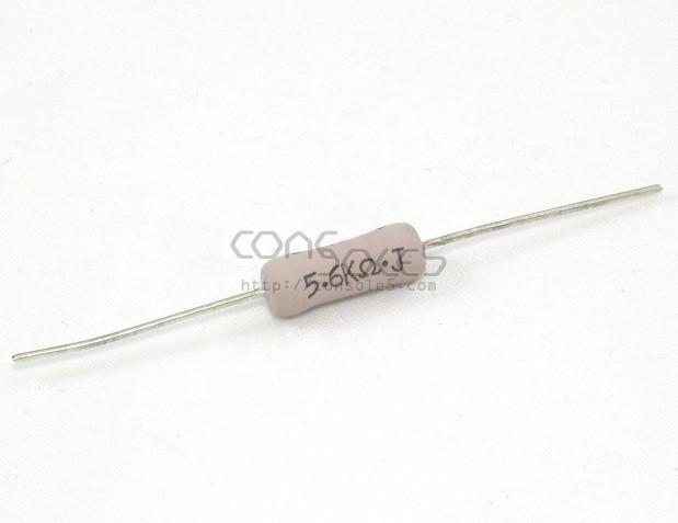 5.6k Ohm Resistor, 3 Watt, Metal Oxide