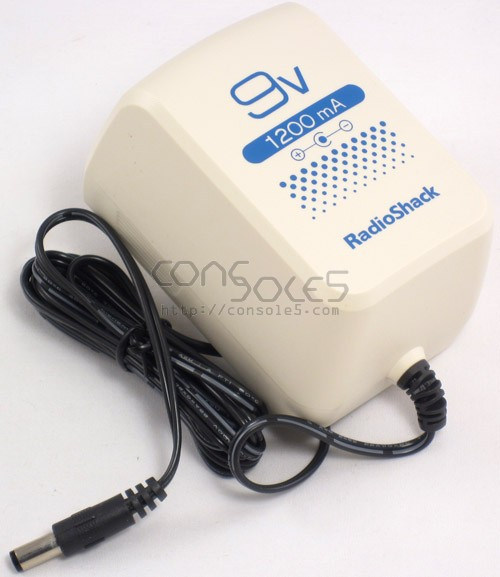 Radio Shack AC Power Supply Adapter: Genesis, Sega CD, TurboGrafx, NES
