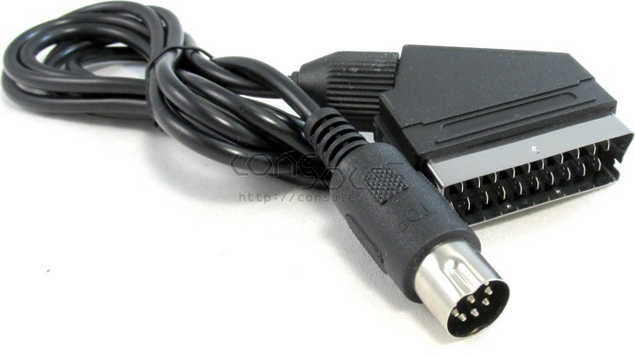 Sega Genesis 1 / Mega Drive / Master System RGB JP21 Cable -262 - 1.8m - 5.5'