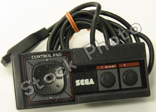 Sega Master System Controller (Threaded D-pad, No Plug)