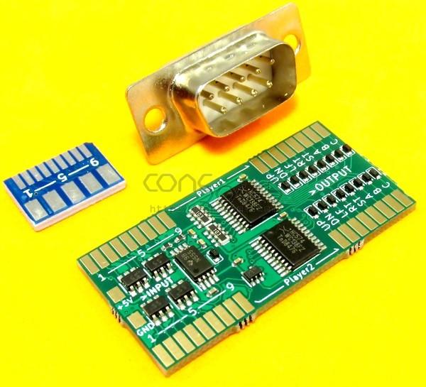 pxlmod v1.3 Genesis / Mega Drive Controller Port Adapter Kit for Sega Game Gear