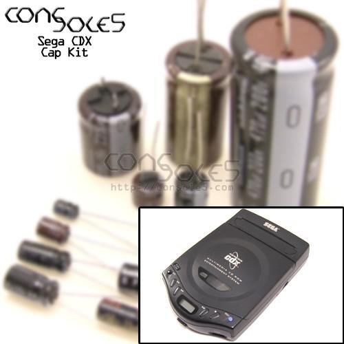 Sega CDX / Multi-Mega Cap Kit