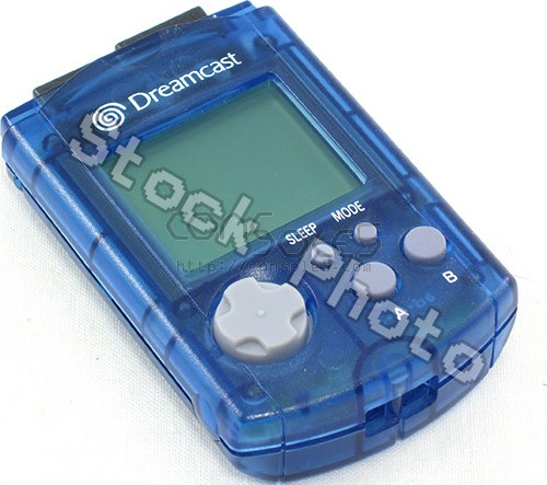 Sega Dreamcast VMU - Clear Blue (MK-50121)