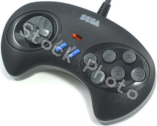 Sega Genesis 6 Button Controller: MK-1470