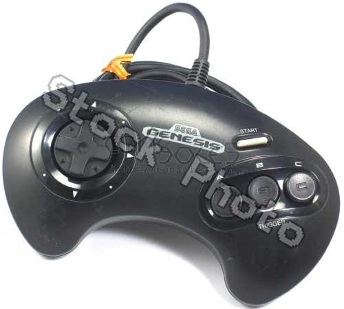 Sega Genesis 3-Button Controller: MK-1650