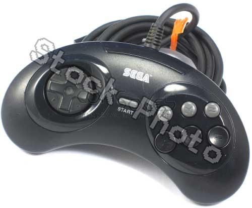 Sega Genesis 6 Button Controller: MK-1653