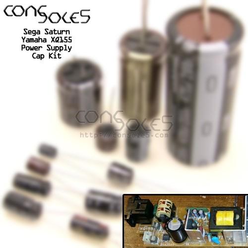 Sega Saturn Power Supply Cap Kit: Yamaha XQ155