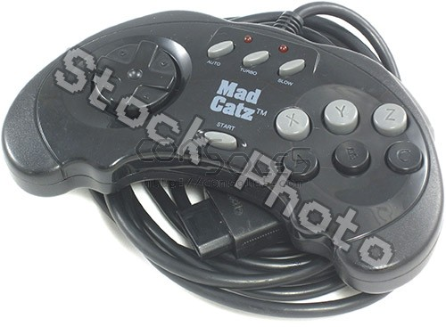 Sega Saturn Controller: Mad Catz Advanced Control Pad (with Turbo)