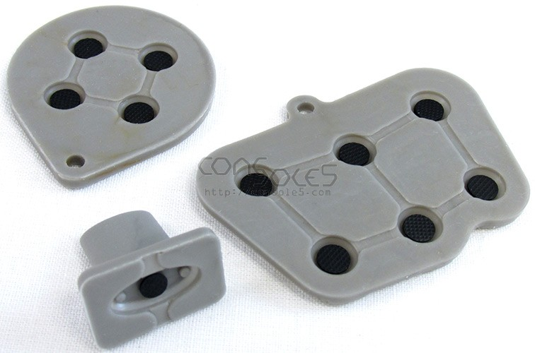 Sega Saturn Replacement Controller Silicone Rubber Carbon Dot Pads