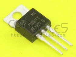 7805 +5v Voltage Regulator 3-Pin TO-220 MC7805ACTG