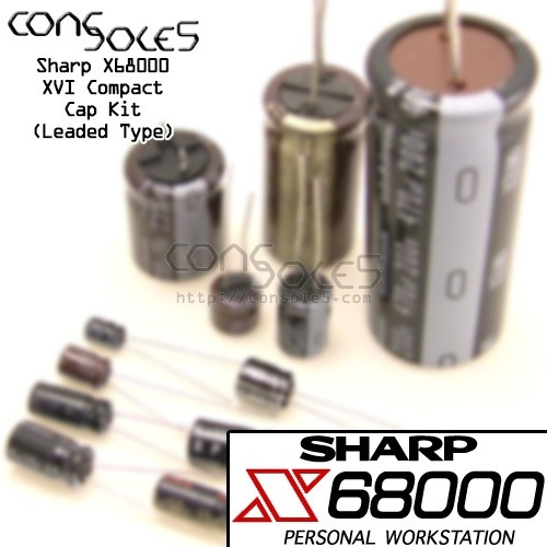 Sharp X68000 XVI Compact Cap Kit - Leaded Style Kit