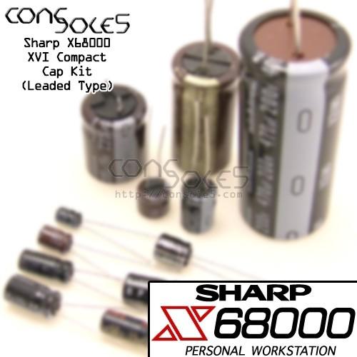 Sharp X68000 XVI Compact Power Supply Cap Kit