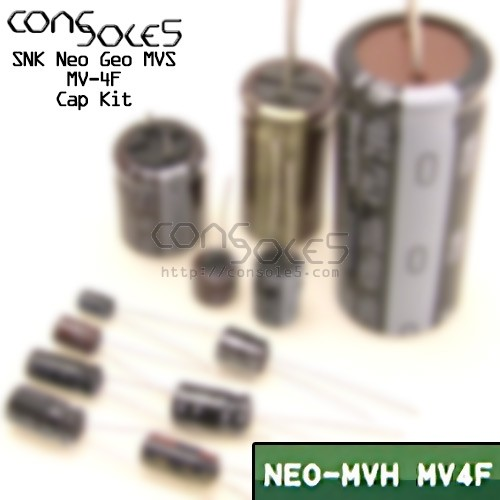 SNK Neo Geo MVS MV4F MV-4F MV4TF2 Cap Kit