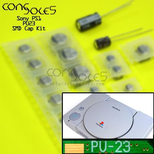 Sony Playstation PS1 SMD Cap Kit - Rev PU23 PU-23