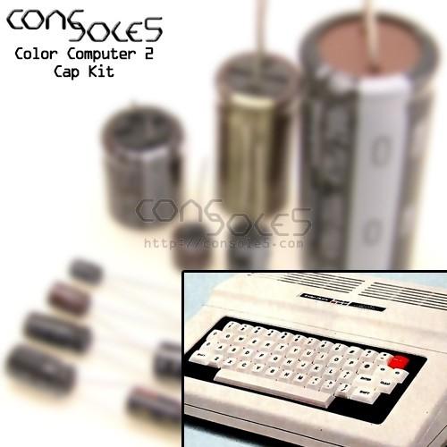 Tandy / Radio Shack Color Computer 2 Cap Kit CoCo2