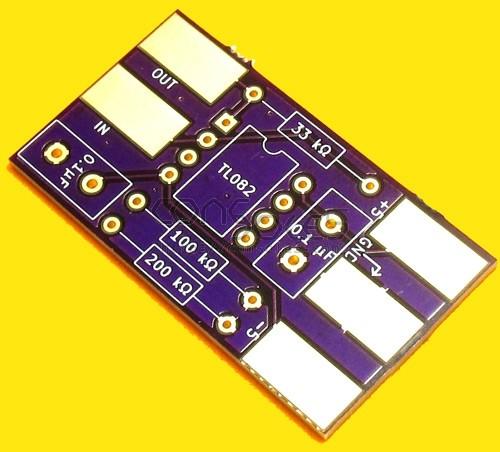 Vectrex Debuzz Circuit-specific PCB