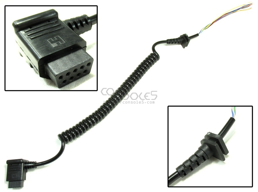 Vectrex NEW Reproduction Replacement Controller Cable - For GCE / MB / Bandai Control Panels