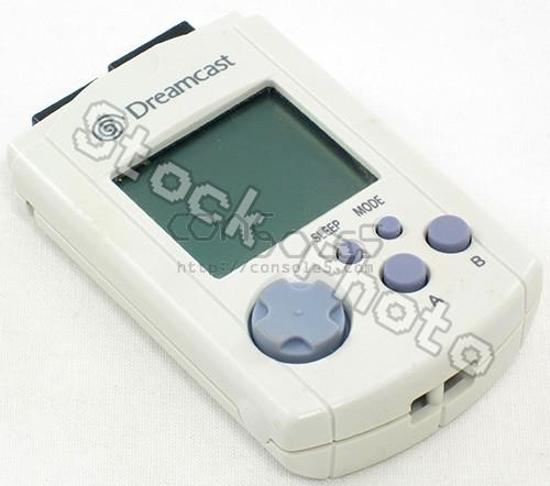 Sega Dreamcast VMU - Standard White (MK-50120)