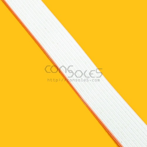 "28ga Stranded 3M Hookup Ribbon Wire Cable - 10 Conductor 105c rated - 12"" 30cm length"
