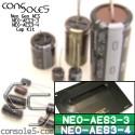 SNK Neo Geo AES (NEO-AES 3-3, 3-4) Cap Kit