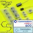 Commodore Amiga 600 / 1200 Cap Kit (Surface Mount SMD version)
