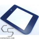 GLASS Game Boy DMG-01 New Replacement Lens / Screen Cover (Blue)