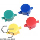 Super Famicom Controller Button Replacement Set - Multicolor for SFC
