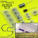 Super Nintendo / Super Famicom SNES SMD type Cap Kit (SHVC Models)