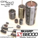 Sharp X68000 ACE Computer & Power Supply Cap Kit