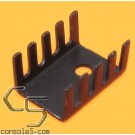 TO-220 Transistor Aluminum Heat Sink - Heatsink TO220