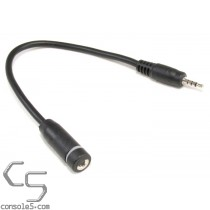 Miniature TRRS 2.5mm to 3.5mm Adapter Cable