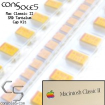 Macintosh Classic II 2 SMD Tantalum Main PCB Cap Kit (Rev 1)