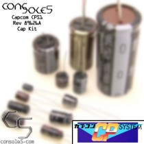 """Capcom CPS1 A Board Cap Kit - """"A"""" PCB CPS-1"""