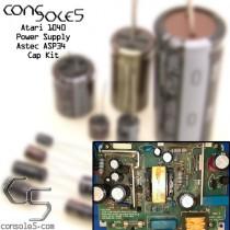 Atari 1040 Computer Power Supply Cap Kit: Astec ASP34 Versions 1-4