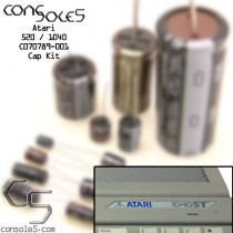 Atari 520 / 1040 ST STFM Computer Cap Kit C070789-001 - Main PCB