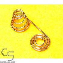 AAA Battery Spring, dual positive and negative terminals