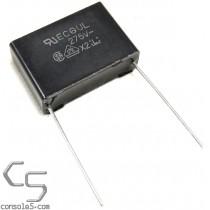 0.47uF 275V Panasonic Metallized Polyester Film X2 Safety Capacitor