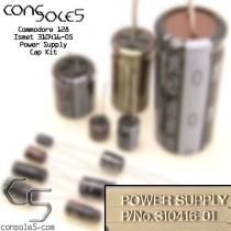 Commodore 128 Power Supply Cap Kit: Mitsumi (5 capacitor supply)