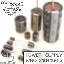 Commodore 128 Power Supply Cap Kit: Ismet (2 capacitor supply)
