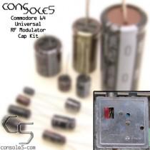 Commodore 64 C64 / C64C Modulator Cap Kit (Universal)