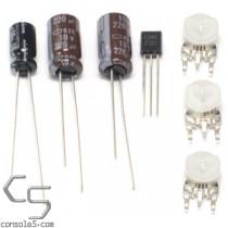 CXA1145 S-Video and Composite AV Mod Kit (2SC945 based)